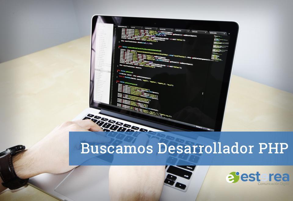 Oferta de Empleo: Buscamos desarrollador PHP