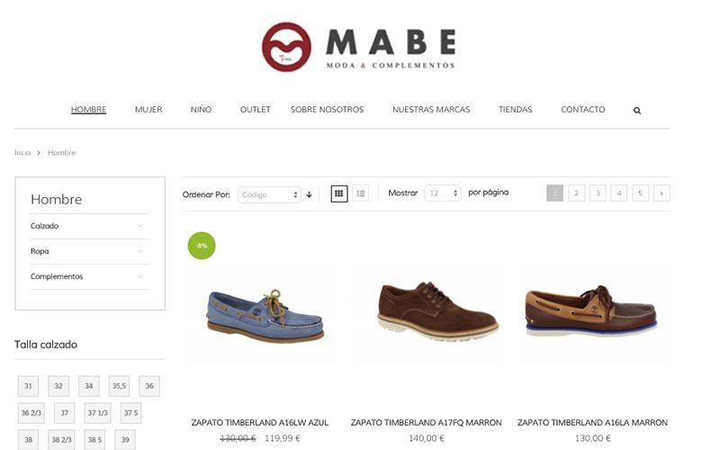 Nuevo proyecto Magento: Mabemoda