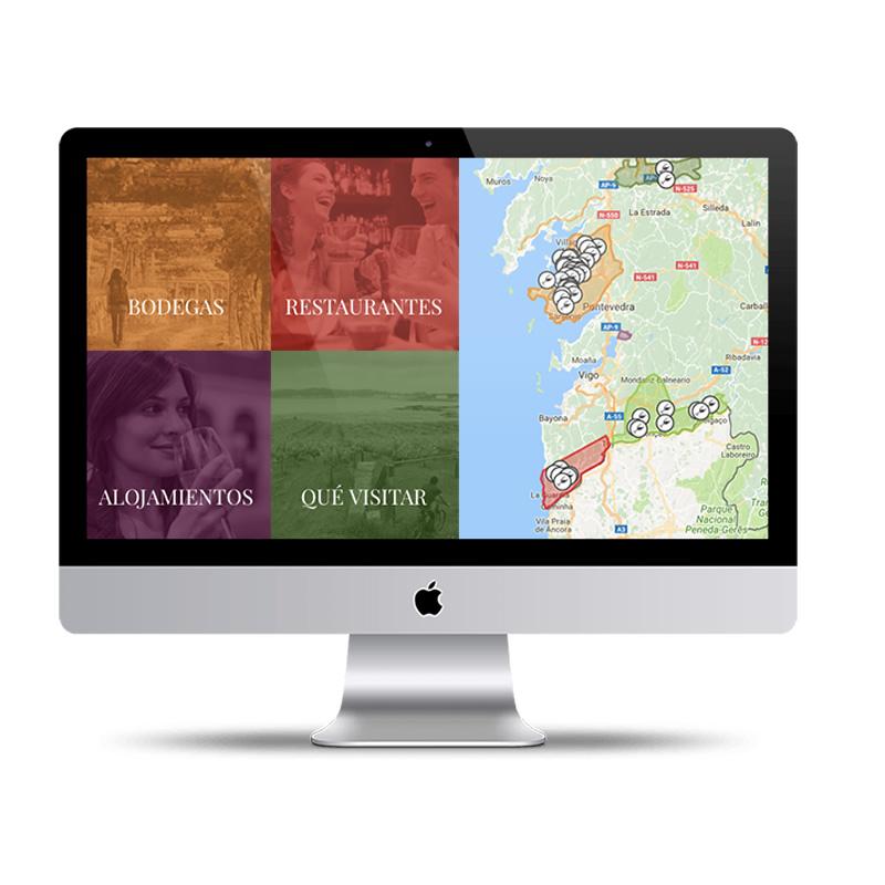 Página web de la Asociación Ruta Vino Rías Baixas