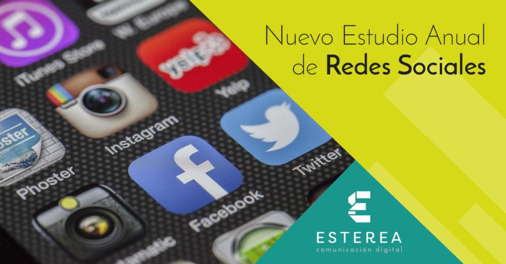 Nuevo Estudio Anual de Redes Sociales